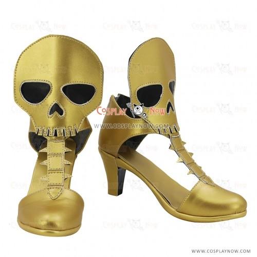 Fate Grand Order Cosplay Shoes Ereshkigal Ereshukigaru Golden Boots