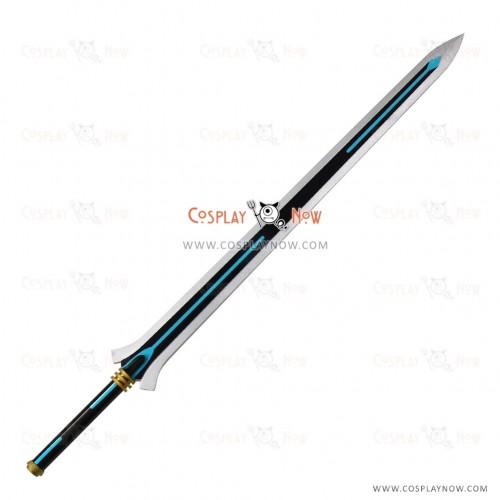 Sword Art Online-Ordinal Scale Kirito Sword with Belt Cosplay Prop