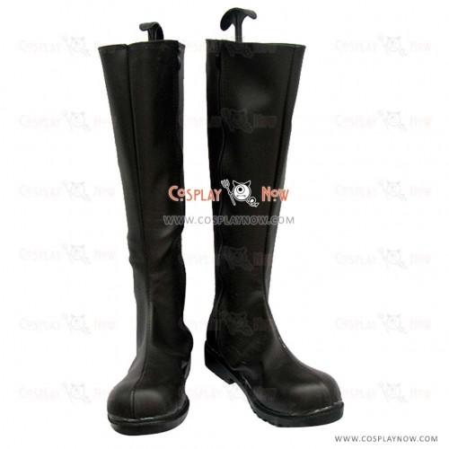 Karneval Cosplay Shoes Jiki Black boots
