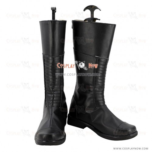 Inhumans Cosplay Shoes Black Bolt Boots