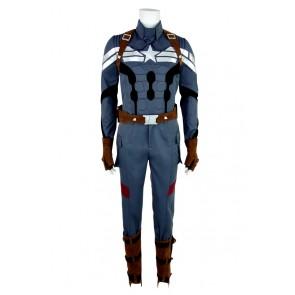 Captain America Steve Rogers Cosplay Costume