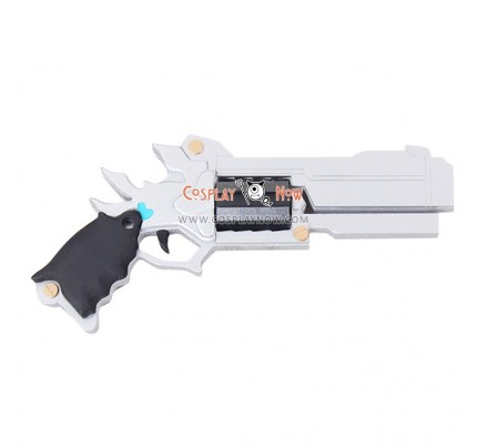 ELSWORD Shooting Guardian Chung Silver Shooter PVC Cosplay Props