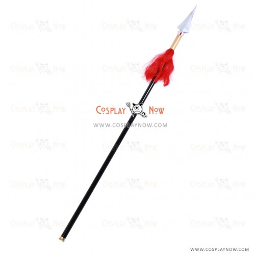 Fate grand order Cosplay Li Shu Wen props with spear
