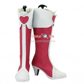 DokiDoki! Pretty Cure Cosplay Shoes Mana Aida Boots