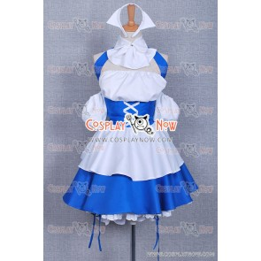 Chobits Chii Cosplay Cosplay Blue Maid Dress