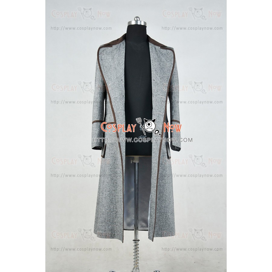 Who is Doctor Cosplay The Fourth Doctor Dr 4th Tom Baker Costume Trench Coat