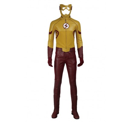 The Flash Season 3 Cosplay Kid Flash Costume