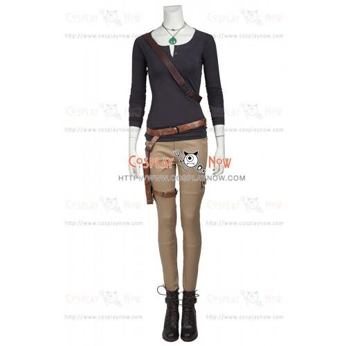 Lara Croft: Tomb Raider Cosplay Lara Croft Costume Long Sleeve Ver
