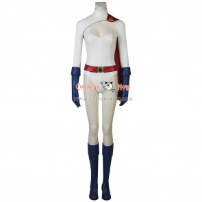 Power Girl Cosplay Kara Zor-E Costume