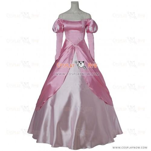 Disney princess Ariel little mermaid party dress for girls