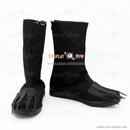 Bleach Cosplay Shoes The Cuarta Espada Ulquiorra Cifer Black Boots