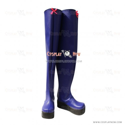 AKB0048 Cosplay Shoes Mimori Kishida 8th Blue Boots