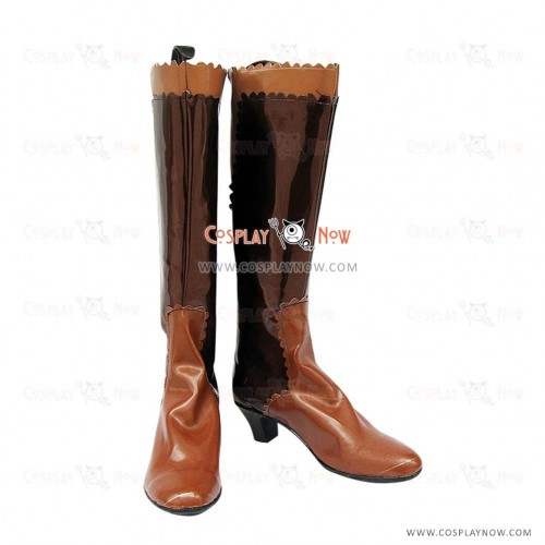 Final Fantasy Xii Cosplay Shoes Yuna Lenne Song Boots