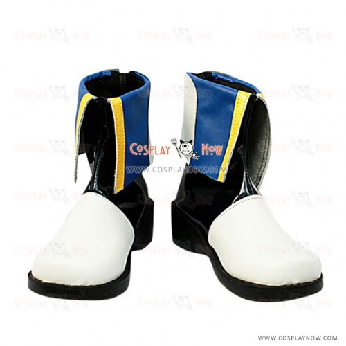 Vocaloid Kaito Cosplay Shoes Custom Made