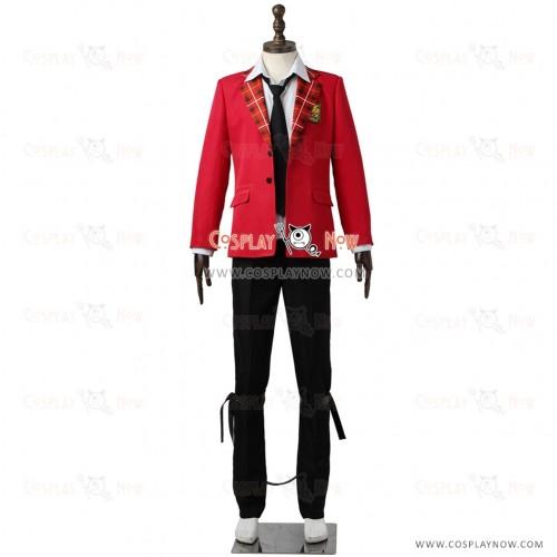 The Idolmaster SideM High×Joker Cosplay Sakaki Natsuki Costume Uniform