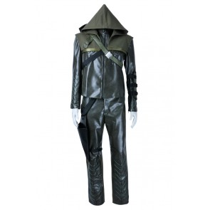 Green Arrow Cosplay Oliver Queen Costume