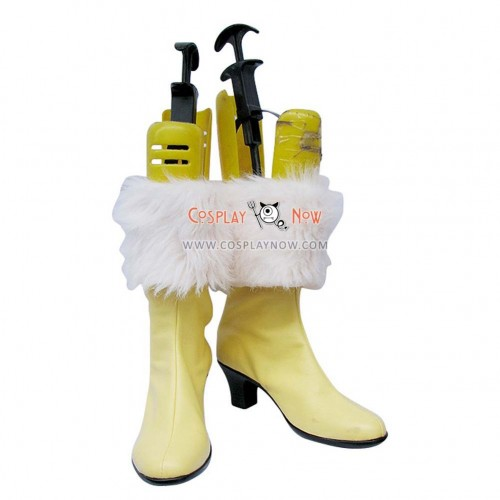 Final Fantasy 13 Cosplay Shoes Dia Vanille Boots