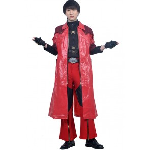 Dante Costume For Devil May Cry 4 Special Edition DMC Cosplay