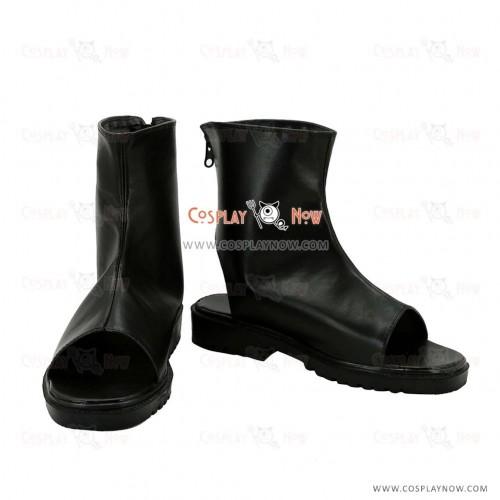 Fate Grand Order Fuuma Kotarou Black Cosplay Shoes