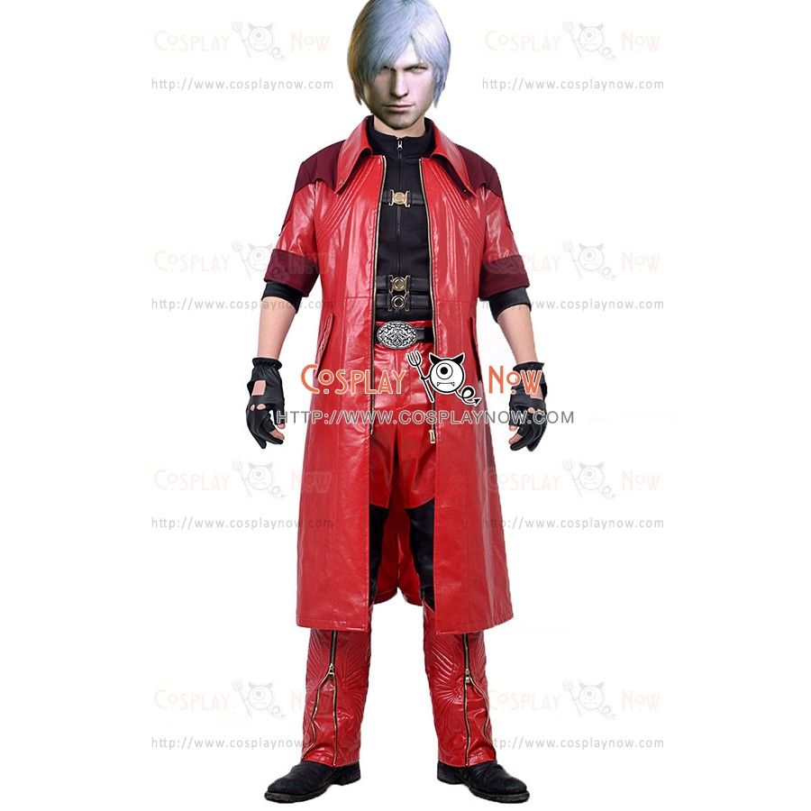 Dante Costume Devil May Cry 4 Special Edition Dmc Cosplay