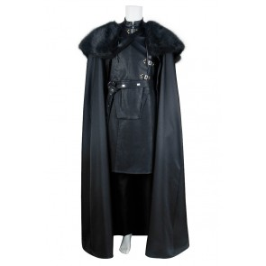 Jon Snow Costume For Game of Thrones Cosplay Uniform Outfits