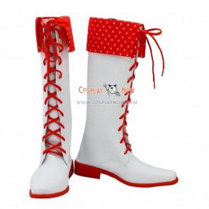 The Idolmaster Cosplay Shoes Amami Haruka Boots