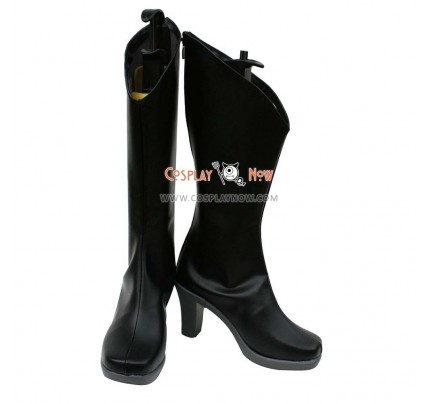 Unlight Cosplay Shoes Arlequin Stacia Black Boots