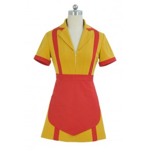2 Broke Girls Max Black Caroline Wesbox Channing Cosplay Costume