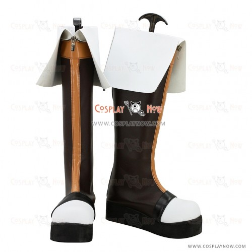 Black Bullet Cosplay Shoes Aihara Enju Boots