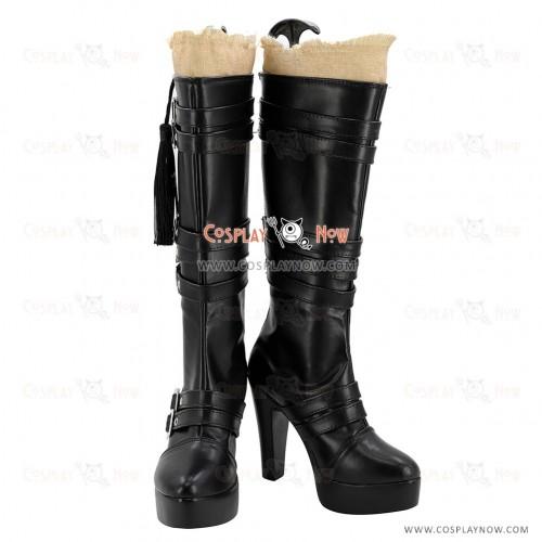 Final Fantasy XV Cosplay Shoes Iris Amicitia Boots