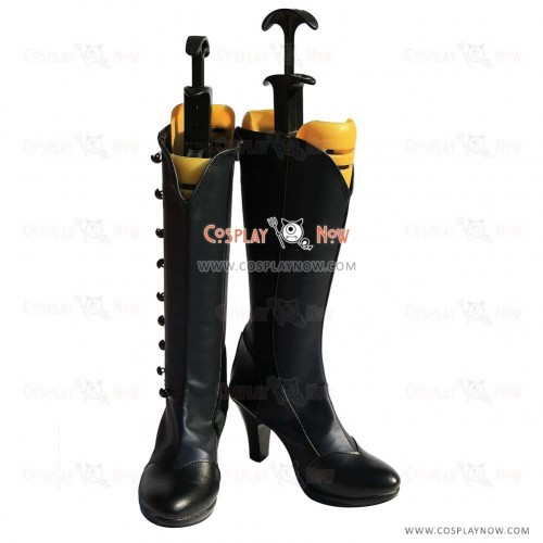 Black Butler Cosplay Shoes Ciel Phantomhive Navy Boots