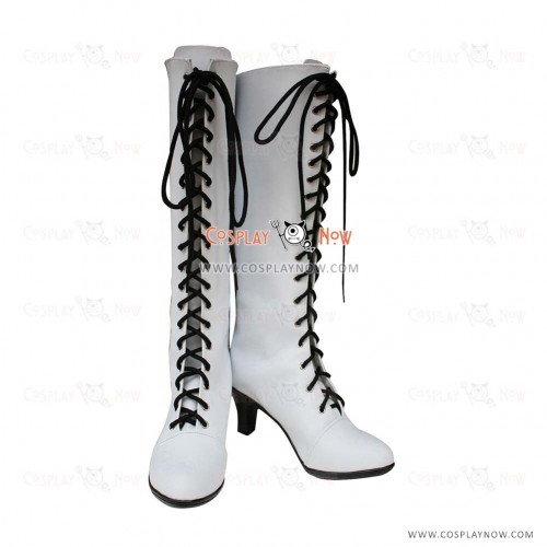 Black Butler Cosplay Shoes Angela's Boots