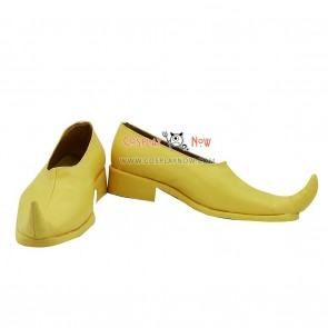 Magi Kouen Ren Yellow Cosplay Shoes