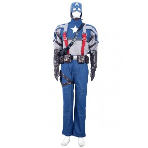 Steve Rogers Captain America Costume For Captain America The First Avenger Cosplay