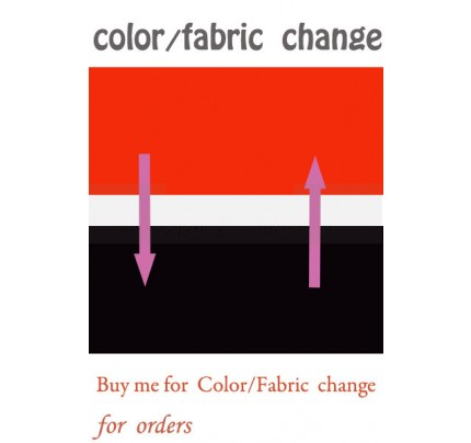 Color / Fabric Change Service for Costume Orders