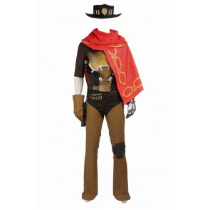 Overwatch Cosplay McCree Costume
