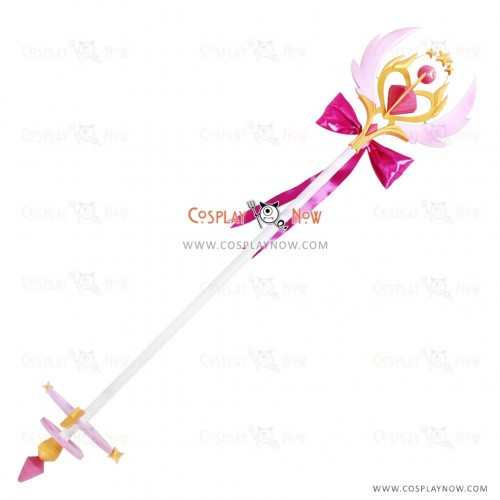 ELSWORD Aisha Dimension Witch Wand Cosplay Prop