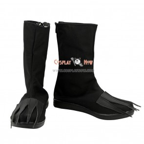 Bleach Cosplay Shoes The Cuarta Espada Ulquiorra Cifer Black Boots