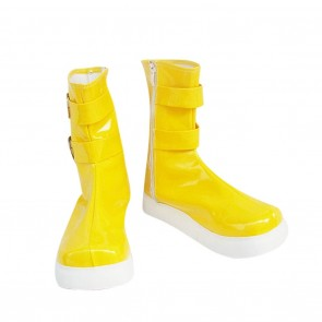 Tales of Destiny Cosplay Shoes Chelsea Torn Yellow Boots