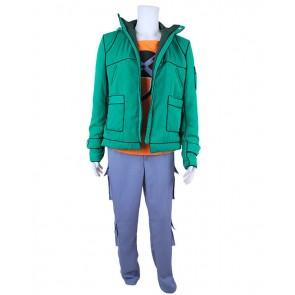 Fairy Tail Cosplay Loke Green Costume