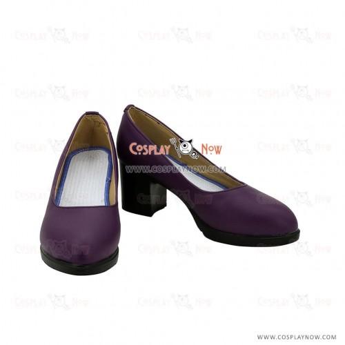 League of Legends LOL Mafia Jinx the Loose Cannon Purple Cosplay Shoes