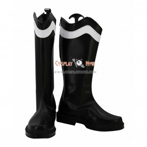 Akame ga KILL! Cosplay Shoes Night Raid Bulat Black Boots