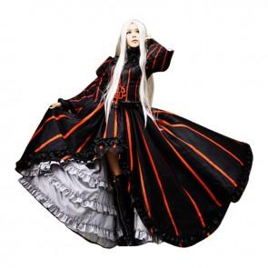 Fate Zero Cosplay Irisviel Von Einzbern Costume Black Dress