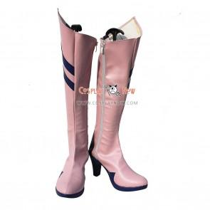 Neon Genesis Evangelion Cosplay Shoes Makinami Mari Illustrious Boots