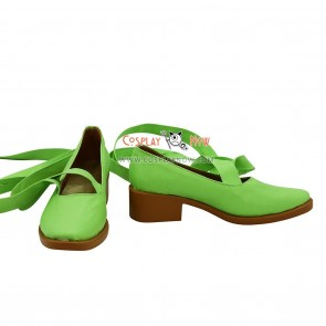 Shugo Chara Hinamori Amu Green Cosplay Shoes