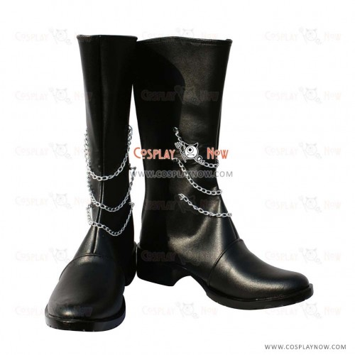 Vocaloid Snow Miku Cosplay Shoes Miki Boots