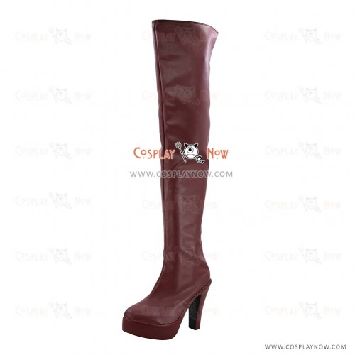 Age of Gunslingers Online Cosplay Shoes Mao Xiaomeng Boots