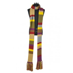 Doctor Who 4th Dr Cosplay Scarf