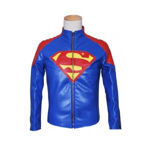 Smallville Clark Kent Cosplay Costume Blue Jacket