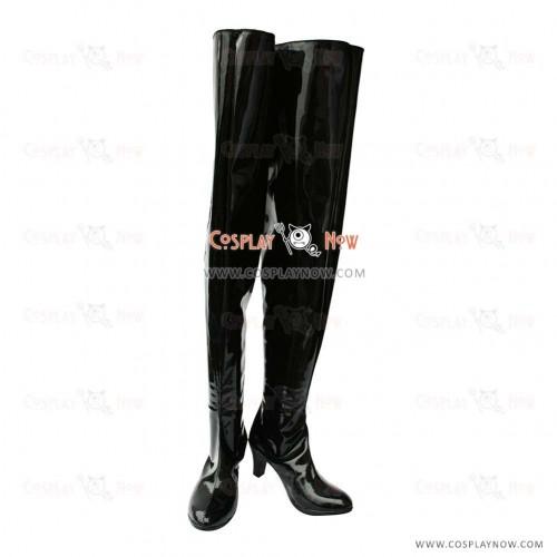 Puella Magi Madoka Magica Cosplay Shoes Akemi Homura Boots